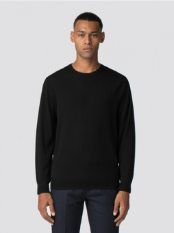Merino Crew Neck black
