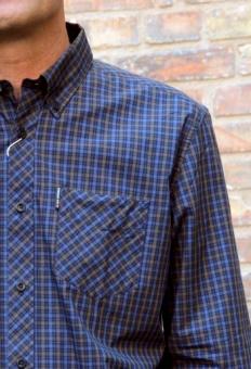 House check shirt bark