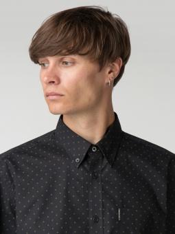 Classic dot shirt black