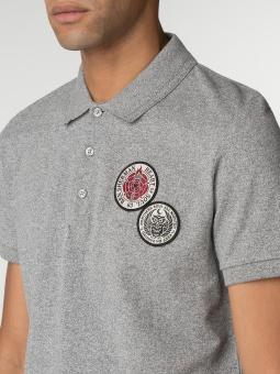 Embroidered Badge Polo Shirt