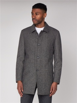 CAR COAT wool