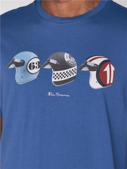 Helmets tee Indigo