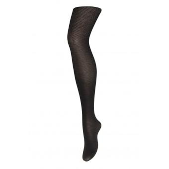 Glam - tights with chevron - black