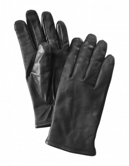 Klassisk herrhandske svart