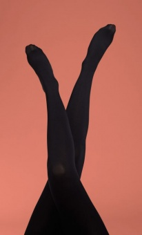 Tights Solid Black