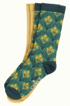 Socks 2-Pack Dynasty fir green
