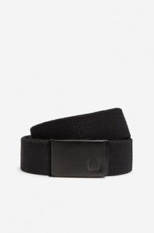 Slim Graphic Webbing Belt