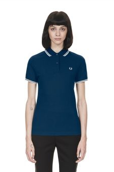 Twin tipped shirt insignia blue