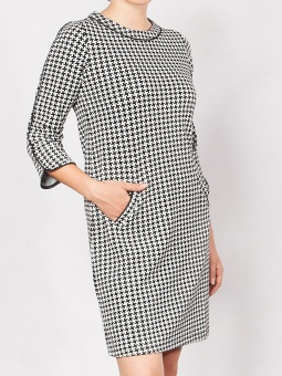 Grace houndstooth