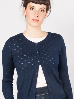 Lovelyn cardigan navy