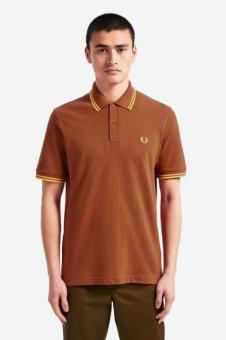 M12 FP Shirt Paprika / Sunset gold