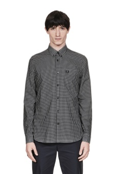 Tree-Colour Gingham Shirt