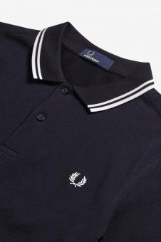 Twin tipped shirt navy/white/white