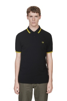 Twin tipped shirt black/yellow