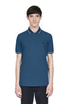 Twin Tipped Shirt midnight blue/white/black