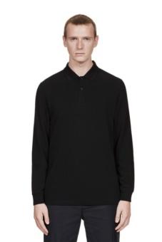 LS Twin Tipped Shirt black