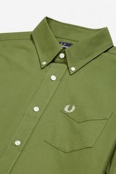 Classic Oxford Shirt SS cypress