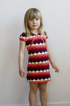 Cup Dress Frisky red