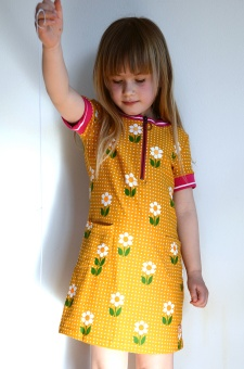 Dress Pepper Mini Daisy Dot Yellow