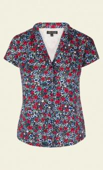 Patty blouse hula blue