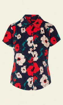Blouse Shirley Poppy Blue