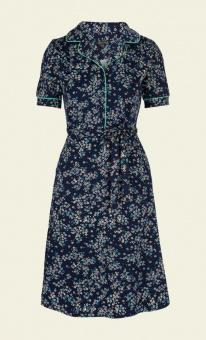 Bibi dress Frangipani blue