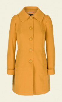Laura Coat Heavy Polyester Crepe