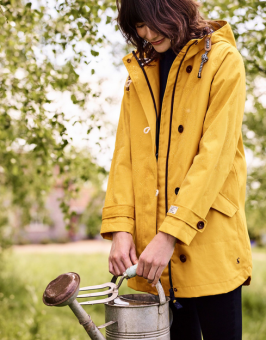 Coast Mid Waterproof Jacket Antique Gold