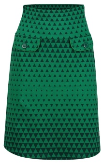 Skirt Triangle green