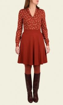 Sofia Skirt Milano Crepe rio red