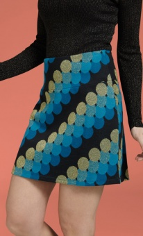 Border Skirt Mini Discotheque