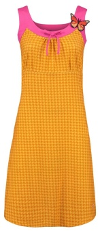Dress Josephine Houndstooth Yellow