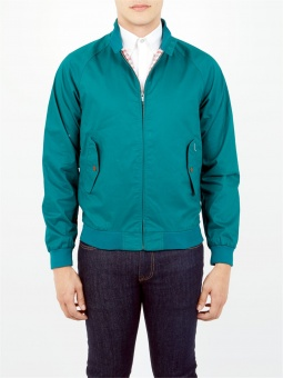 Cotton harrington bottle green