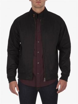 cotton harrington jet black