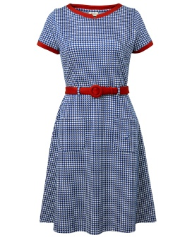 Paulina Dogtooth Blue