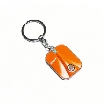 Vespa front keychain - orange