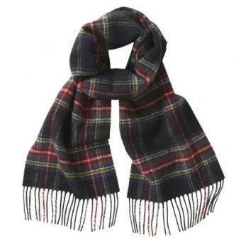 Gloverall ullscarf black stewart