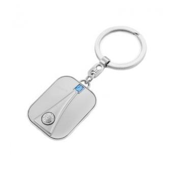 Vespa front nyckelring - grå