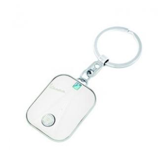 Vespa front nyckelring - krämvit