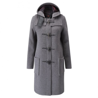 Duffle coat dam grey