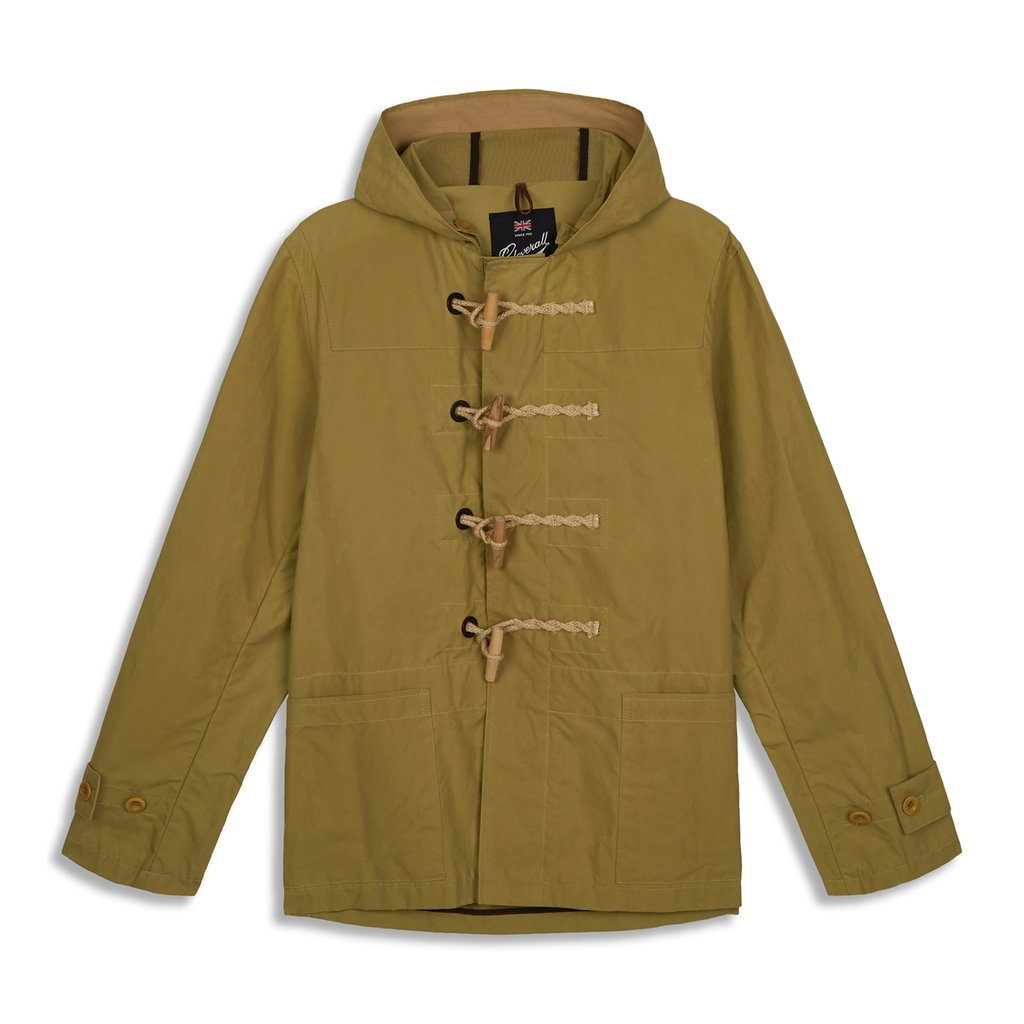 Mens Summer Monty Duffle Coat stone