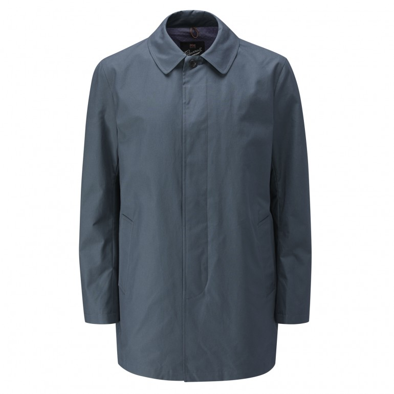 Mens car coat navy