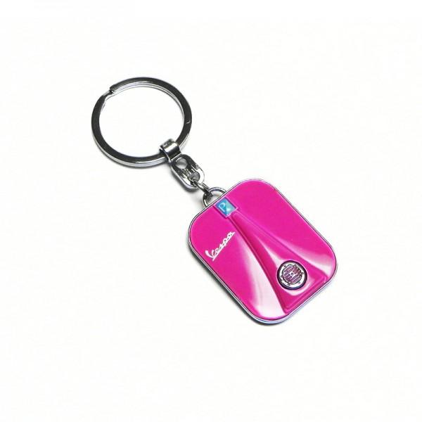 Vespa front keychain - rosa