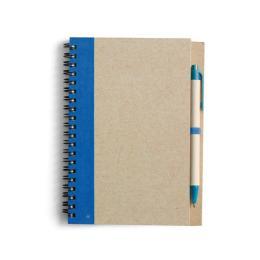 Block Econote inkl penna, Blå