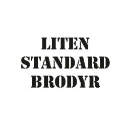 E. Liten Standardbrodyr, Softshell etc.