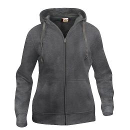 Basic Hoody Full Zip Ladies, Clique