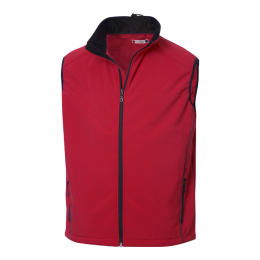 Softshell Vest, Intense Red S