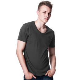 T-shirt Scooped Men´s