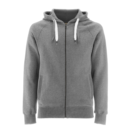 Hoody Zip-UP Unisex, Earth Organic