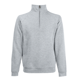 Sweatshirt med kort zip, Fruit